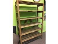 Old antique pine Shelving