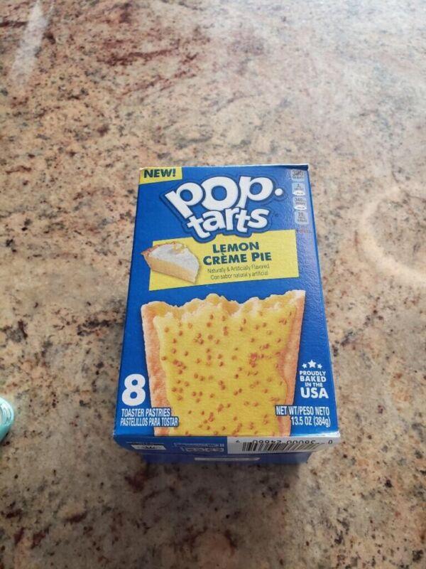pop tart 8 count lemon cream pie