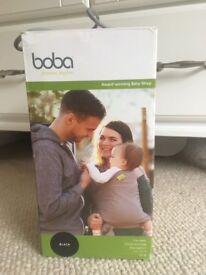 Boba baby carrier wrap, black