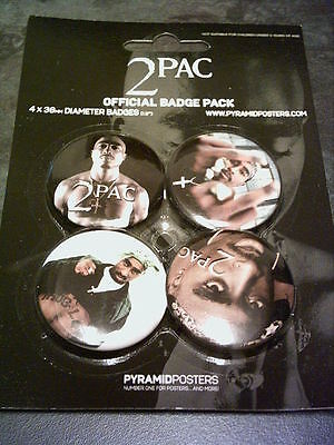 2 Pac - Pack of 4 x 38mm Button Badges