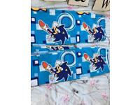 Sonic the hedgehog curtains