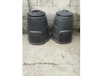 Two Compost Bins, will sell separately, good condition.