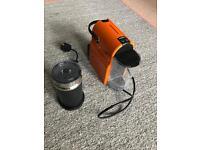 Magimix Orange nespresso machine
