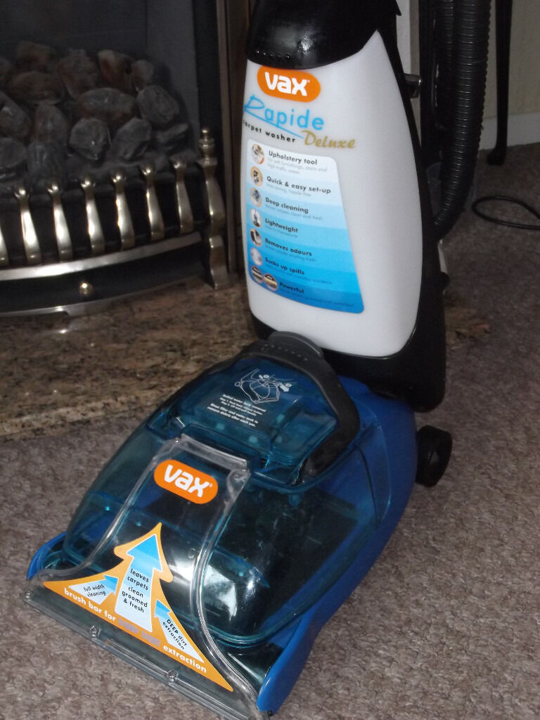 Vax Rapide Deluxe Carpet Washer Good Working Order