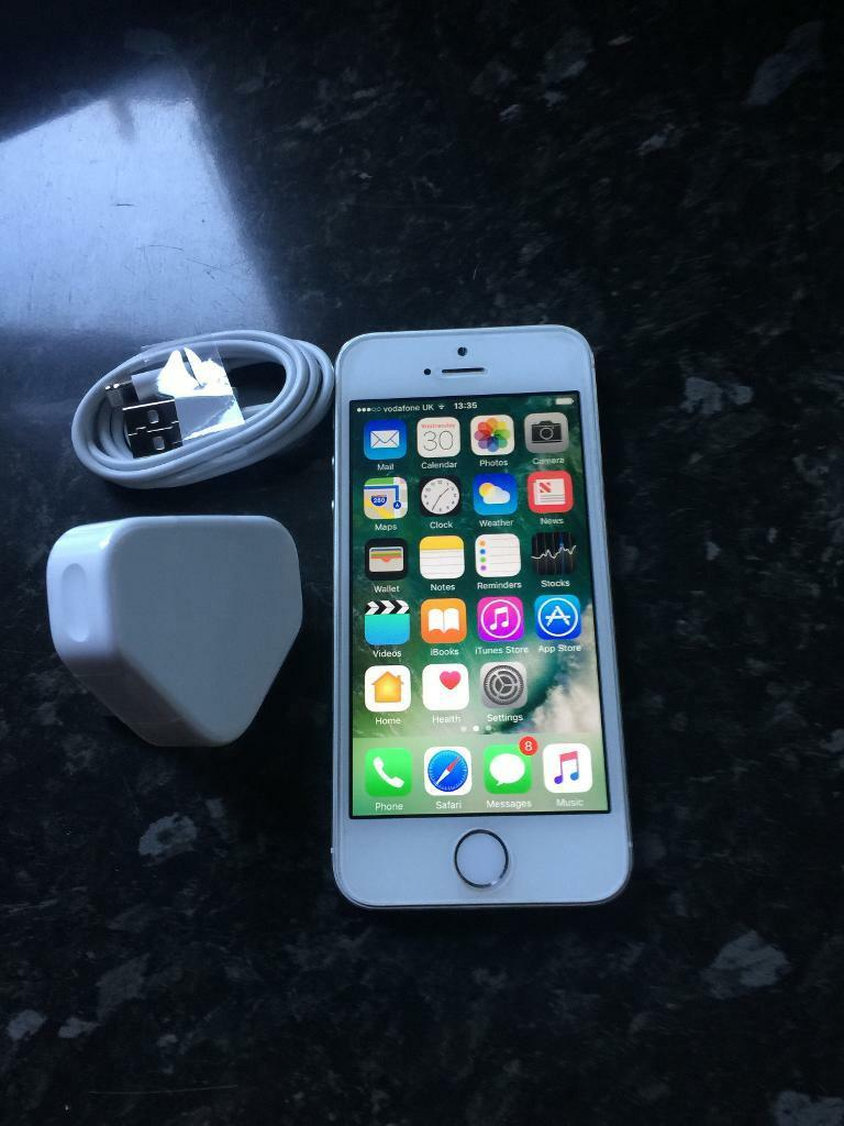 Iphone 5s 16gb on Vodafone /libara and talk talkin Houghton Regis, BedfordshireGumtree - Iphone 5s 16gb on Vodafone /libara and talk talk in mint condition with brand new charger