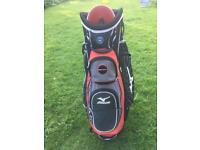 Mizuno Aerolite Cart Bag, Hood And Strap - Excellent Condition