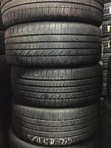 235/45r20 Dunlop grandtrek/Pirelli scorpion zero Mercedes GLK used 80%