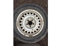 Transit connect wheels and tyres 195/65R15 x4