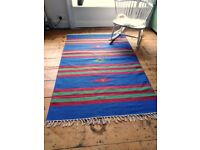 REDUCED PRICE!! HAND MADE COTTON KELIM RUGS. 7 DESIGNS AVAILABLE. BRAND NEW AND WRAPPED!