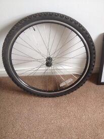 26 inch mtb front wheel