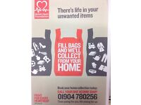 The BRITISH HEART FOUNDATION wants your unwanted items. We will collect for FREE!!