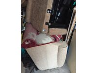 2 Recliner chairs -motorised plus extra leads