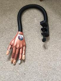 Nail training hand