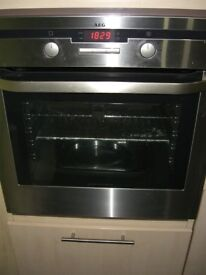 Built-in electric oven by AEG