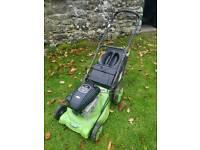 Handy petrol lawn mower - self propelled