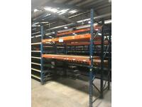 Heavy Duty Pallet Racking/Shelving |10x Bays Available|
