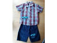 Brand new Approx 7-8 Years shirt & shorts set