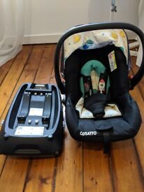 Cosatto Car Seat Size 0 With Isofix Base Priced For A Quick Sale