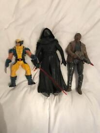 Large figures Star Wars Wolverine