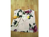 Ted baker cami size small pink