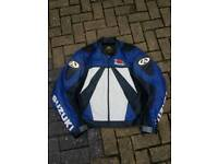 Gsxr cowhied leather jacket