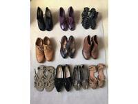 10 pairs of size 5 / 6 shoes some brand new
