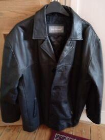 Ben Sherman Leather coat.