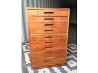 Vintage filing drawers / mid century
