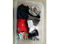 Baby Clothes 3-6 Months 10 items + hats £5