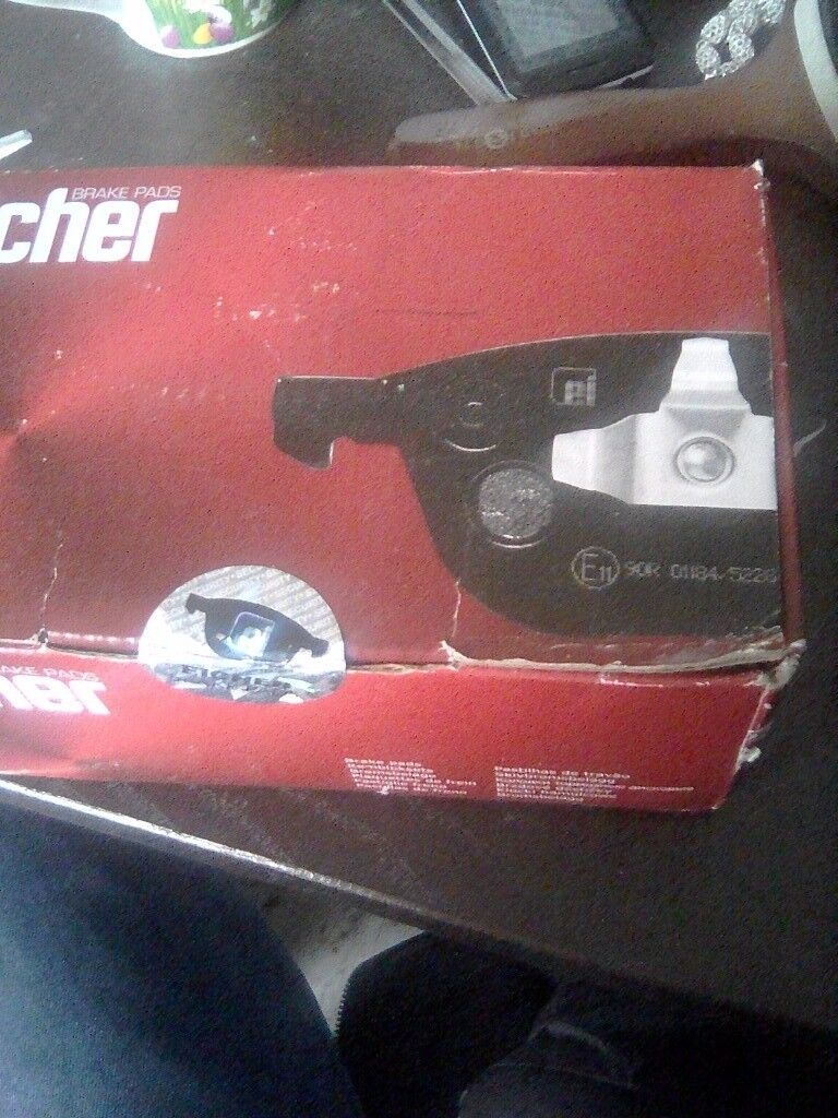Brand new front brake pads please no time waisters and reasonable offers