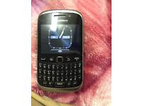 Mobile phone black berry 9320 Tesco