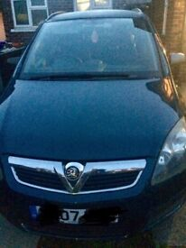 Vauxhall zafira (7 seater)