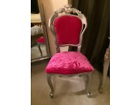 Dressing bedroom chair
