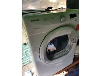 Hoover VTC781NBC Tumble Dryer Condenser Large 9kg Capacity with Sensor (White)