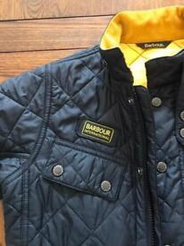 Kids Barbour coat
