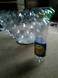 Wanted 2L clear plastic bottles