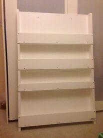Tidy Books Bookcase in white