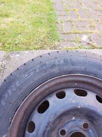 Prestivo 2000 Tyre+ wheel 175/65 R14 82T Corsa c SRI SXI SXI+ Comfort