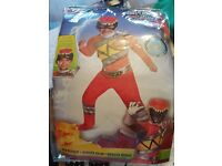 Red power ranger outfit