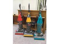 3 off Dyson DC07 Vacuums