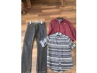 Boys clothes age 10 yrs including firetrap jeans