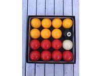 Pool balls 50mm