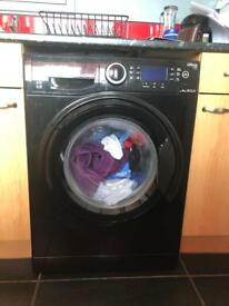 Hotpoint black washing machine