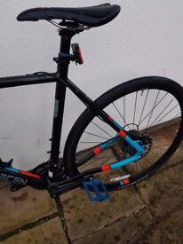 Saracen hack 1 cyclocross 2017 new condition done 18 miles genuine reason forsale