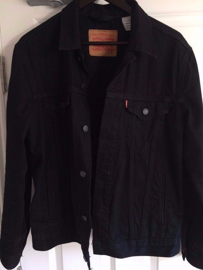 Levi's Trucker Jacket - Men's, Black, Medium
