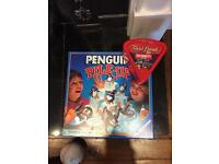 Penguin pile up and Trivial Persuit Celebrity addition