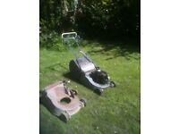 "lawnmower Masport rear roller aluminium body self propelled 17"" cut + spare body"