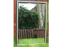 MIRROR - GOLD AND BLACK FRAME