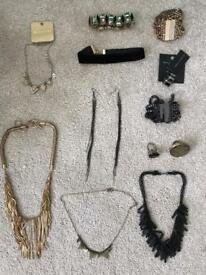 Huge lot of costume jewellery - some new with tags