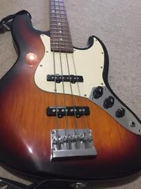 Aria bass guitar